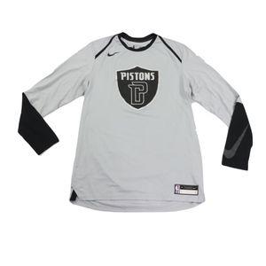Nike 2XLT Detroit Pistons NBA Authentics Shirt